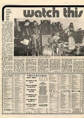 Hawkwind Watch This Space MM2 Interview 1972