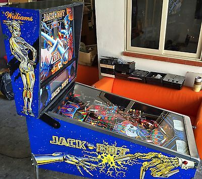 Pinball Williams Jack Bot 1995 USED - Good Working Condition - Flipper