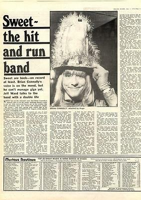 Sweet The Hit & Run Band MM4 Interview 1974