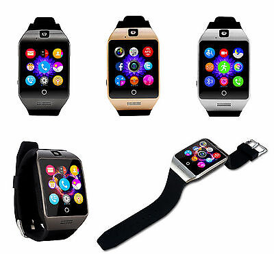 Smartwatch Uhr Watch Bluetooth Armband Tablet Android IOS Windows Smartphone