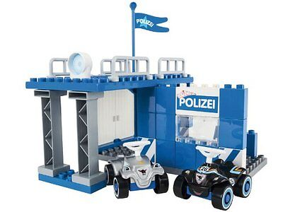 Big 800057053 Playbig Bloxx Bobby Car Polizeistation Polizei Bauklötze Autos NEU