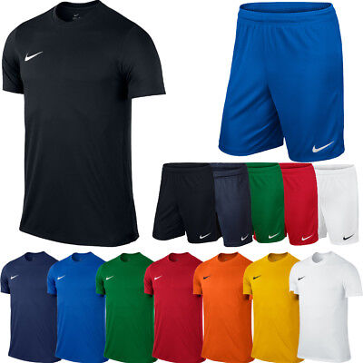 Nike JUNIOR BOYS T Shirt Top or Shorts Football Sports Training Tee XS S M L XL