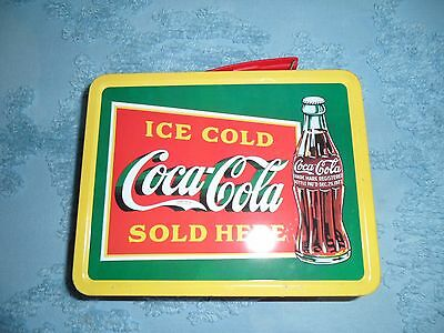 Collectible Vintage Coca-Cola Tin Lunch Box