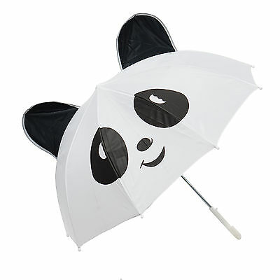 Kiddi Choice 3D Pop-Up White Panda Cute Umbrella