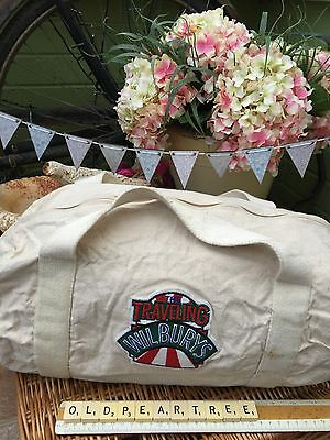 George Harrison Travelling Wilburys Promo Canvas Cotton Kit Bag Limited Edition