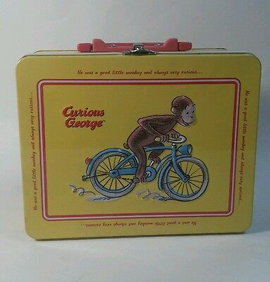 Curious George vintage style lunch box