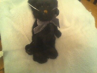 Boyds Bears Witchpuss the Black Halloween Sat - 12""