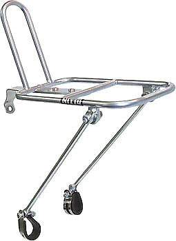 NEW Nitto M18 Front Rack Mount Bicycle Rack Silver