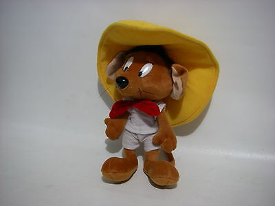 "Vintage 10 "" Speedy Gonzales Plush Toy Stuffed Animal Warner Bros Looney Toons"