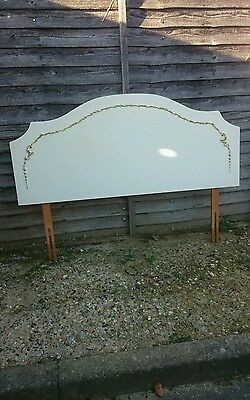 Vintage Louis French style double headboard
