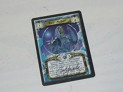 SIGNED DOJI HOTURI EXPERIENCED 2 THUNDER ToV - L5R Legend of the Five Rings