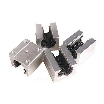 SBR20UU 20mm SLOTTED OPEN LINEAR BALL BEARING BLOCK RAIL SLIDE CNC ROUTER MOTION