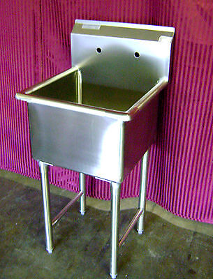 NEW 24x24 Mop Sink Stainless Steel NSF Single Compartment Commercial 1 Restauran
