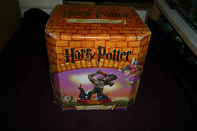 "Enesco Harry Potter The Troll Battle 7"" Masterpiece Figurine Statue With Box"