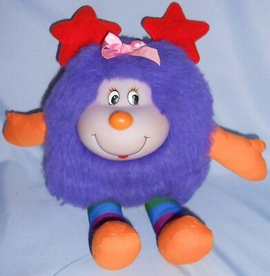 Rainbow Brite Twink Glee Sprite purple plush 12""