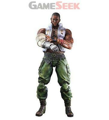 Ff Vii Play Arts Kai Barret Wallace - Action Figures/figures Gaming Figures New