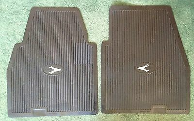 1955-1965 Chrysler Desoto Plymouth Dodge Imperial Accessory Front Floor Mats