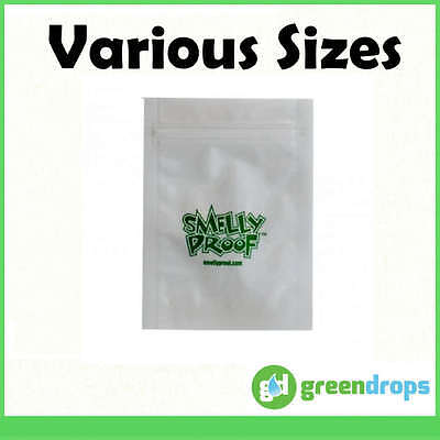 SMELLY PROOF BAGS Baggies Air Tight Herbs Food Bait Seal Pouch Smell Proof Smoke