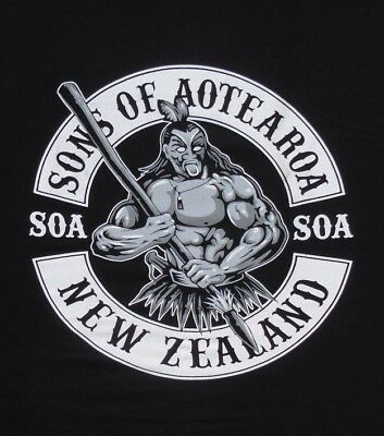 Sons of Aotearoa New Zealand Maori Funny Men's T-Shirt - S, M, L, XL, XXL & 3XL