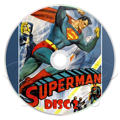 Superman (1948) Complete 15 Chapter TV Serial (2 x DVD)