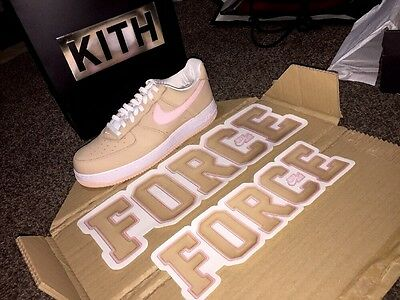 Nike Air Force 1 Japan Linen x Kith Art Basel Store Window Graphic Decal Set