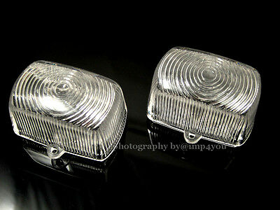 Clear Pair Turn signal lens Honda ice bear mad dog ruckus clone scooter moped