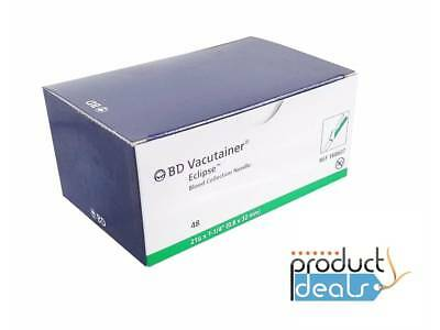 """BDVacutainer Blood Collection Needle Safety Shield 21Gx1.25"""" 1case/480Pcs 368607"""