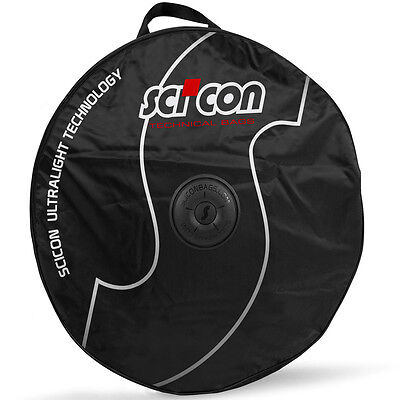 SciCon Single Wheel Bag with External Shields Bicycle Wheel Transport
