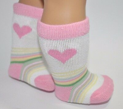 American Girl Doll Our Generation Journey Girl 18 Inch Dolls Clothes Love Socks