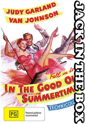 In The Good Old Summertime DVD NEW, FREE POSTAGE WITHIN AUSTRALIA REGION ALL