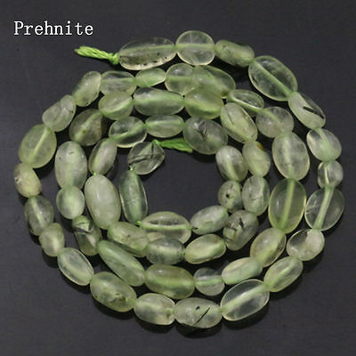 Wholesale!Natural Freefrom Stone Irregular Prehnite Loose Beads Strand 15""