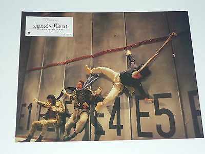 Jackie Chan OPERATION CONDOR PART 2 SET OF 8 RARE FRENCH FILM LOBBY CARDS