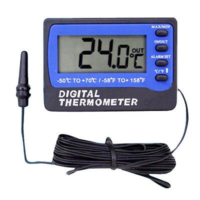 Fridge Refrigerator Freezer Digital Alarm Thermometer Temperature Meter D9L4