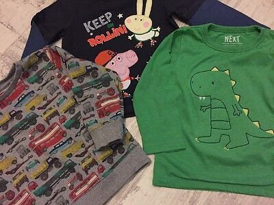 Boys Printed Tops And Jumper Next TU Age 18-24 Months