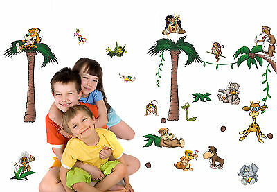 Wandtattoo crazy jungle reuniecollegenoetsele - Jungle wandtattoo ...