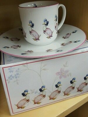 jemima puddleduck saucer and cup child's gift