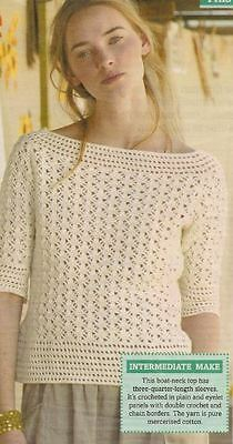 Crochet Top PATTERN (NOT FINISHED ITEM)