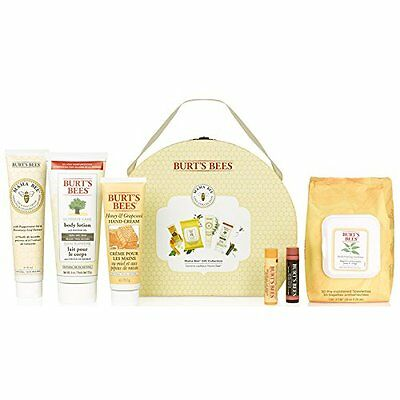 Burt's Bees Mama Bee Gift Collection Baby shower hand body lotion balm set *BNWT
