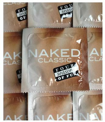 Four Seasons Naked Classic Condoms (3, 6, 9 or 12) –Safe Sex - FREE Shipping