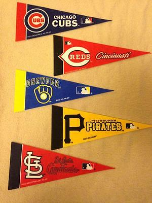 2016 MLB Baseball Mini Pennants *Free Shipping*
