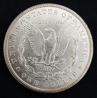 1901 O USA Morgan Silver Dollar Coin. UNCIRCULATED....