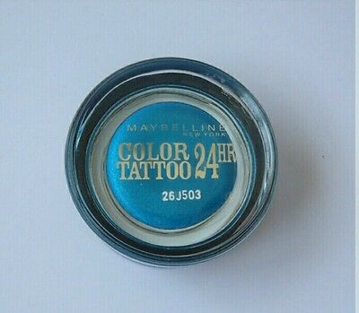 Color Tattoo 24H Maybelline 20 Turquoise Forever