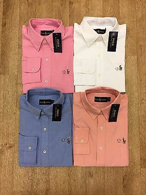 Ralph Lauren Long Sleeve Oxford Shirt
