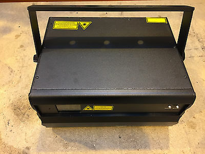 Showtec Galatic Rgb850 Laser With Case For Stage, Djs, Lighting Effects