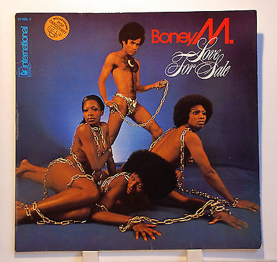 "Vinyl LP 12"" Boney M. Love For Sale Hansa REC. EX+"