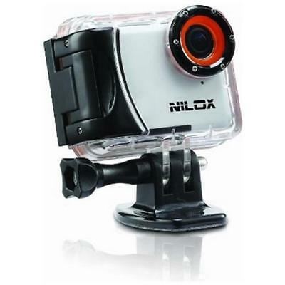 NILOX Mini Action Cam Sensore CMOS HD Ready Display 2 Stabilizzatore Automatico
