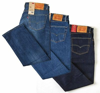 Levis 751 Classic Straight Standard Fit Jeans