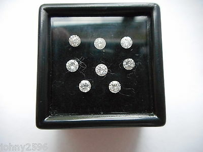 2.8mm round cut diamonds £37.50 each.