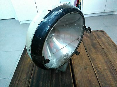 Vintage industrial light spotlight ? heavy duty large size very cool & very rare