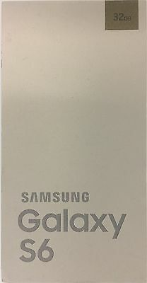 Samsung Galaxy S6 SM-G920V Empty Box No Accessories No Phone